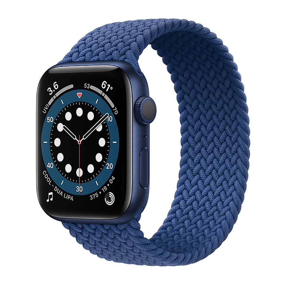 Купить Смарт-часы Apple Watch Series 6 GPS, 44mm Blue Aluminium Case with Atlantic Blue (M02G3)