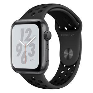 Купить Apple Watch Nike+ Series 4 44mm GPS Space Gray Aluminum Case Black Nike Sport Band (MU6L2)