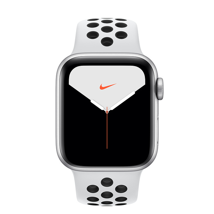 Купить Смарт-часы Apple Watch Nike+ Series 5 40mm Silver Aluminum Case Sport Band (MX3R2)