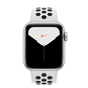 Купить Apple Watch Nike+ Series 5 40mm Silver Aluminum Case Sport Band (MX8D2)