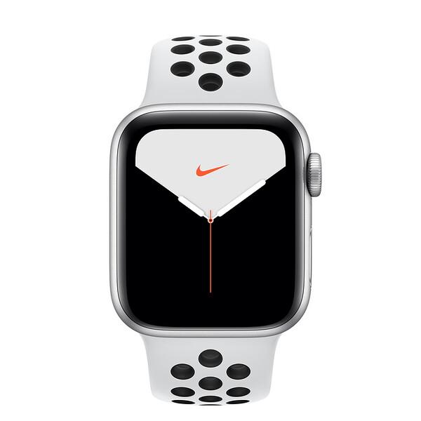 Смарт-часы Apple Watch Nike+ Series 5 40mm Silver Aluminum Case Sport Band (MX3R2)