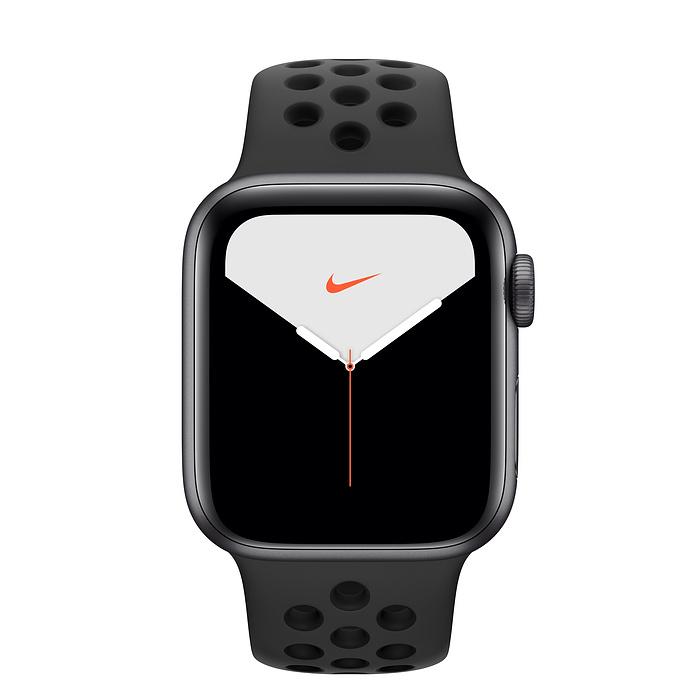 Купить Смарт-часы Apple Watch Nike+ Series 5 40mm Space Gray Aluminum Case Sport Band (MX3T2)