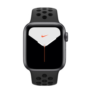 Купить Apple Watch Nike+ Series 5 40mm Space Gray Aluminum Case Sport Band (MX8C2)
