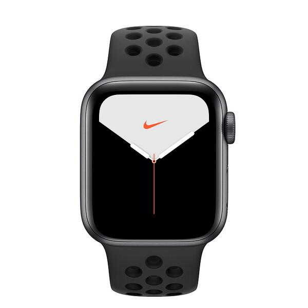 Смарт-часы Apple Watch Nike+ Series 5 40mm Space Gray Aluminum Case Sport Band (MX3T2)