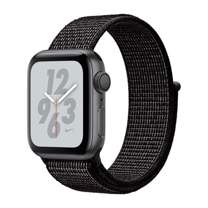 Купить Смарт-часы Apple Watch Nike+ Series 4 40mm GPS Space Gray Aluminum Case with Black Nike Sport Loop (MU7G2)