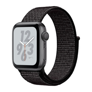 Купить Смарт-часы Apple Watch Nike+ Series 4 40mm GPS Space Gray Aluminum Case with Black Nike Sport Loop (MU7G2)