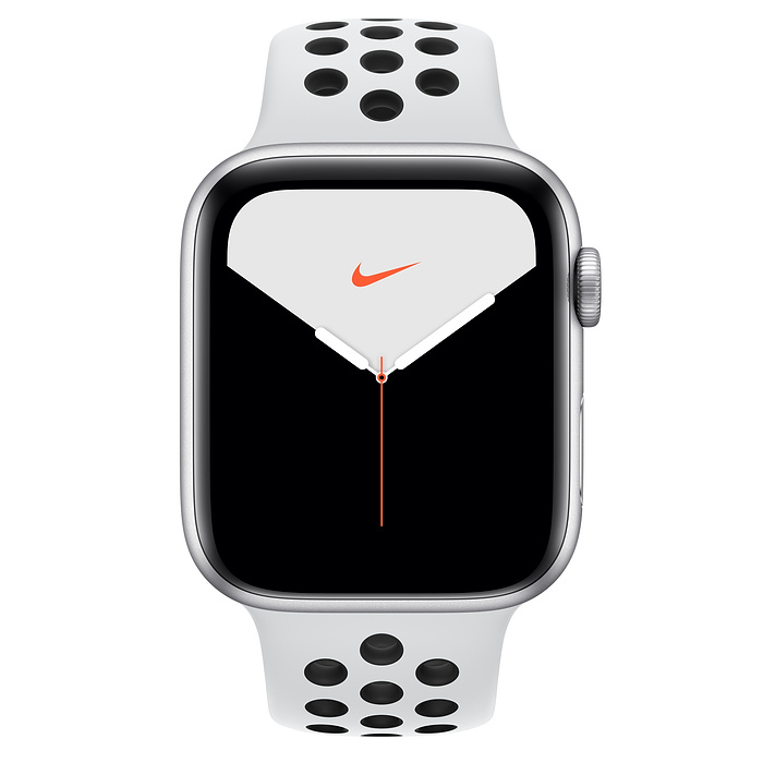 Купить Смарт-часы Apple Watch Nike+ Series 5 44mm Silver Aluminum Case Sport Band (MX3V2)