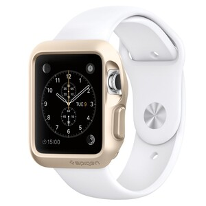 Купить Чехол Spigen Slim Armor Champagne Gold для Apple Watch 38mm