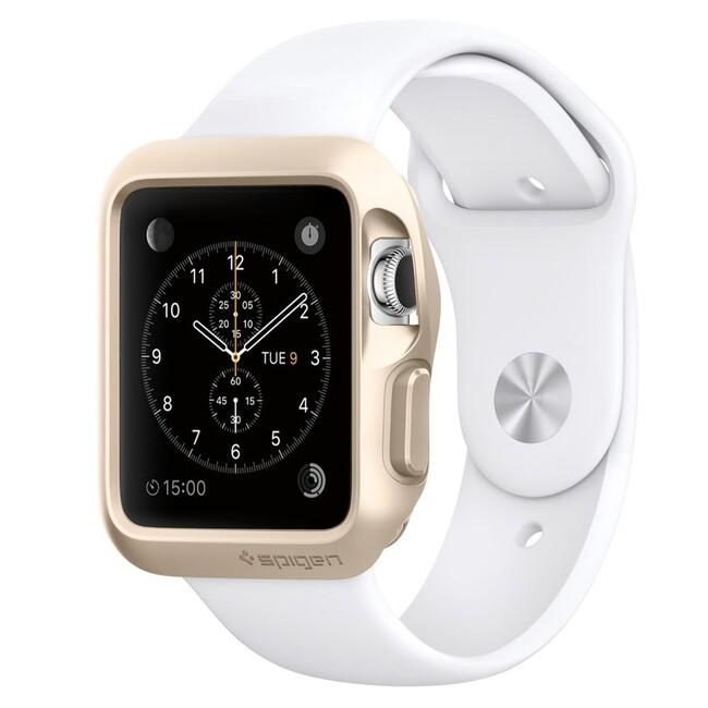 Чехол Spigen Slim Armor Champagne Gold для Apple Watch Series 1 38mm
