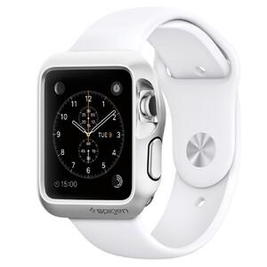 Купить Чехол Spigen Slim Armor Silver для Apple Watch 38mm