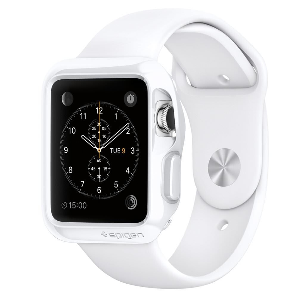 Чехол Spigen Slim Armor White для Apple Watch Series 1 38mm