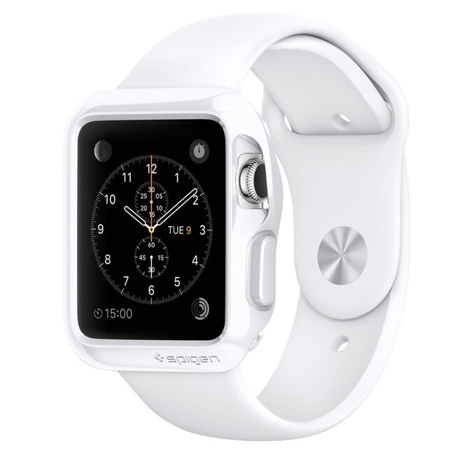 Чехол Spigen Slim Armor White для Apple Watch 38mm