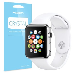 Купить Защитная пленка Spigen Crystal для Apple Watch 38mm (3 пленки) Series 2/1