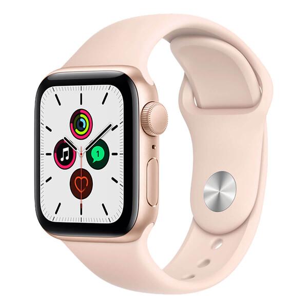 Смарт-часы Apple Watch SE GPS 40mm Gold Aluminum Case with Pink Sand Sport Band (MYDN2)