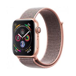 Купить Смарт-часы Apple Watch Series 4 40mm GPS Gold Aluminum Case Pink Sand Sport Loop (MU692)