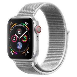 Купить Apple Watch Series 4 40mm GPS+LTE Silver Aluminium Case Seashell Sport Loop (MTUF2/MTVC2)