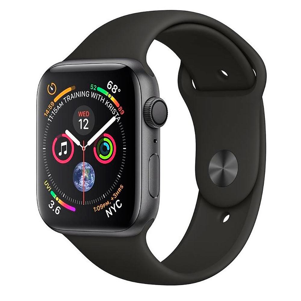 Купить Смарт-часы Apple Watch Series 4 44mm GPS Space Gray Aluminum Case Black Sport Band MU6D2 (Open Box)