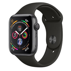Купить Смарт-часы Apple Watch Series 4 44mm GPS Space Gray Aluminum Case Black Sport Band MU6D2 (витринный образец)