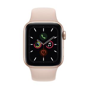 Купить Смарт-часы Apple Watch Series 5 40mm Gold Aluminium Case Sport Band (MWV72)