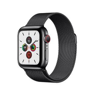 Купить Смарт-часы Apple Watch Series 5 40mm Space Black Stainless Steel Case Milanese Loop (MWWX2)