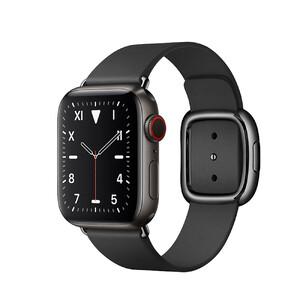Купить Смарт-часы Apple Watch Series 5 40mm Space Black Titanium Case Black Modern Buckle (MWQD2)