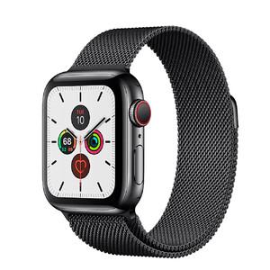 Купить Смарт-часы Apple Watch Series 5 44mm Space Black Stainless Steel Case Milanese Loop (MWW82)