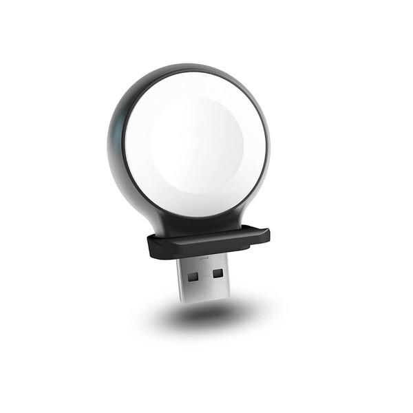 Беспроводное зарядное устройство для Apple Watch Zens Aluminium USB-Stick