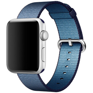 Купить Ремешок Apple 42mm Midnight Blue Woven Nylon (MPW82) для Apple Watch Series 1/2/3