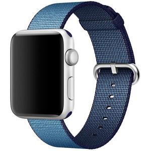 Купить Ремешок Apple 42mm Navy/Tahoe Blue Woven Nylon (MP232) для Apple Watch Series 1/2/3