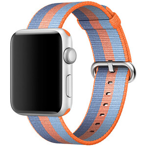 Купить Ремешок Apple 42mm Orange Woven Nylon (MPW22) для Apple Watch Series 1/2/3