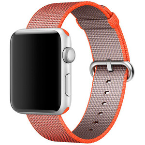 Купить Ремешок Apple 42mm/44mm Space Orange/Anthracite Woven Nylon (MNKF2) для Apple Watch Series 1/2/3/4