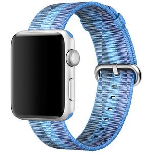 Купить Ремешок Apple 42mm Tahoe Blue Woven Nylon (MPW52) для Apple Watch Series 1/2/3