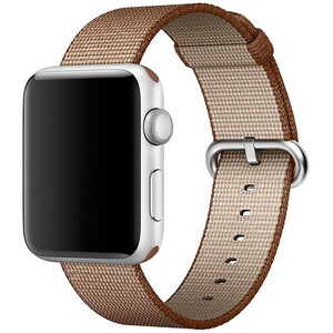 Купить Ремешок Apple 42mm Toasted Coffee/Caramel Woven Nylon (MNKE2) для Apple Watch Series 1/2/3