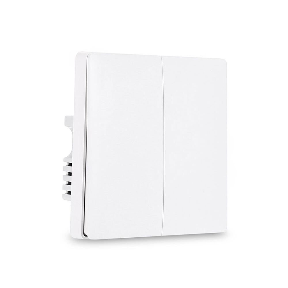 Умный выключатель Xiaomi Aqara Light Switch Two Gang с нулевой линией