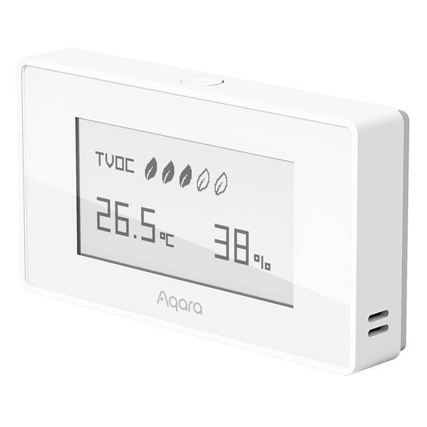 Умный датчик качества воздуха Хiaomi Aqara Monitor Air Quality TVOC Apple HomeKit