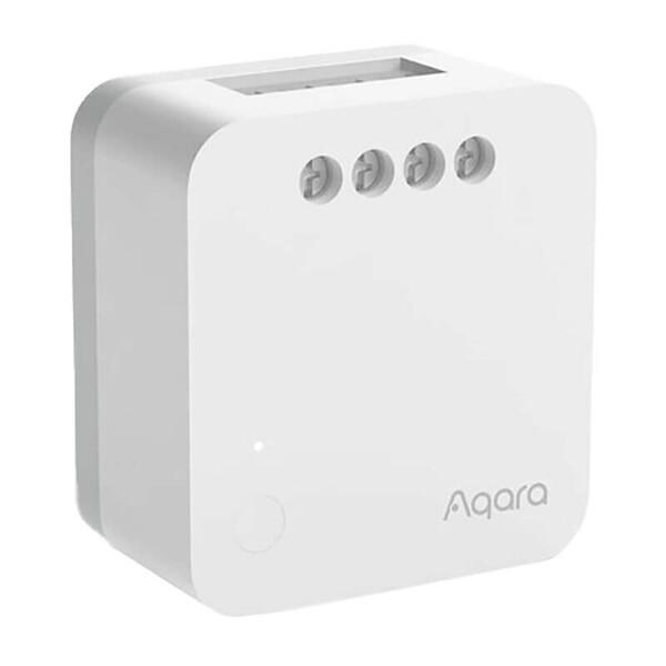 Умное одноканальное беспроводное реле без нейтрали Aqara Single Switch Module T1 (No Neutral) HomeKit