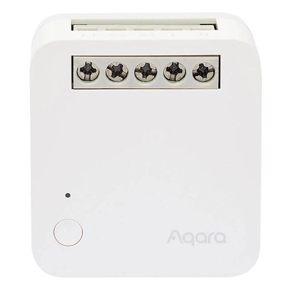 Умное одноканальное беспроводное реле с нейтралью Aqara Single Switch Module T1 (With Neutral) HomeKit