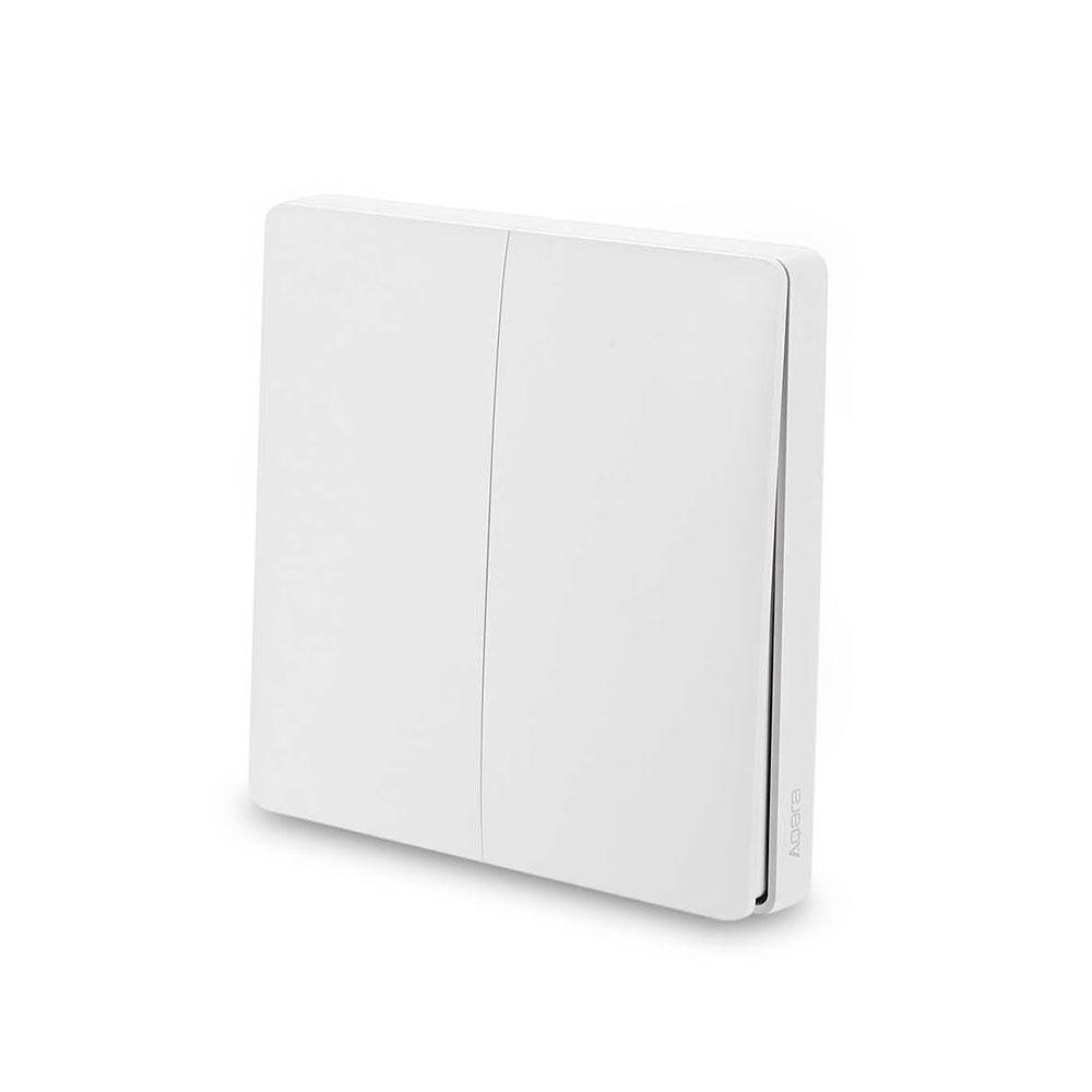 Купить Умный дистанционный выключатель Xiaomi Aqara Wireless Switch Two Gang