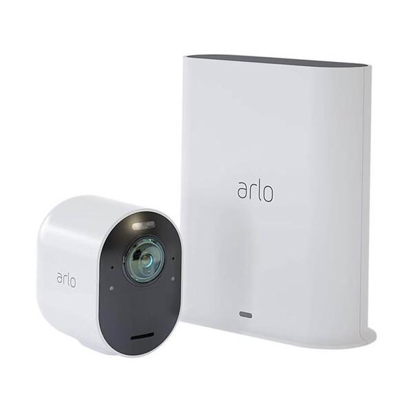Умная камера видеонаблюдения Arlo Ultra 4K (в комплекте Smart Hub)