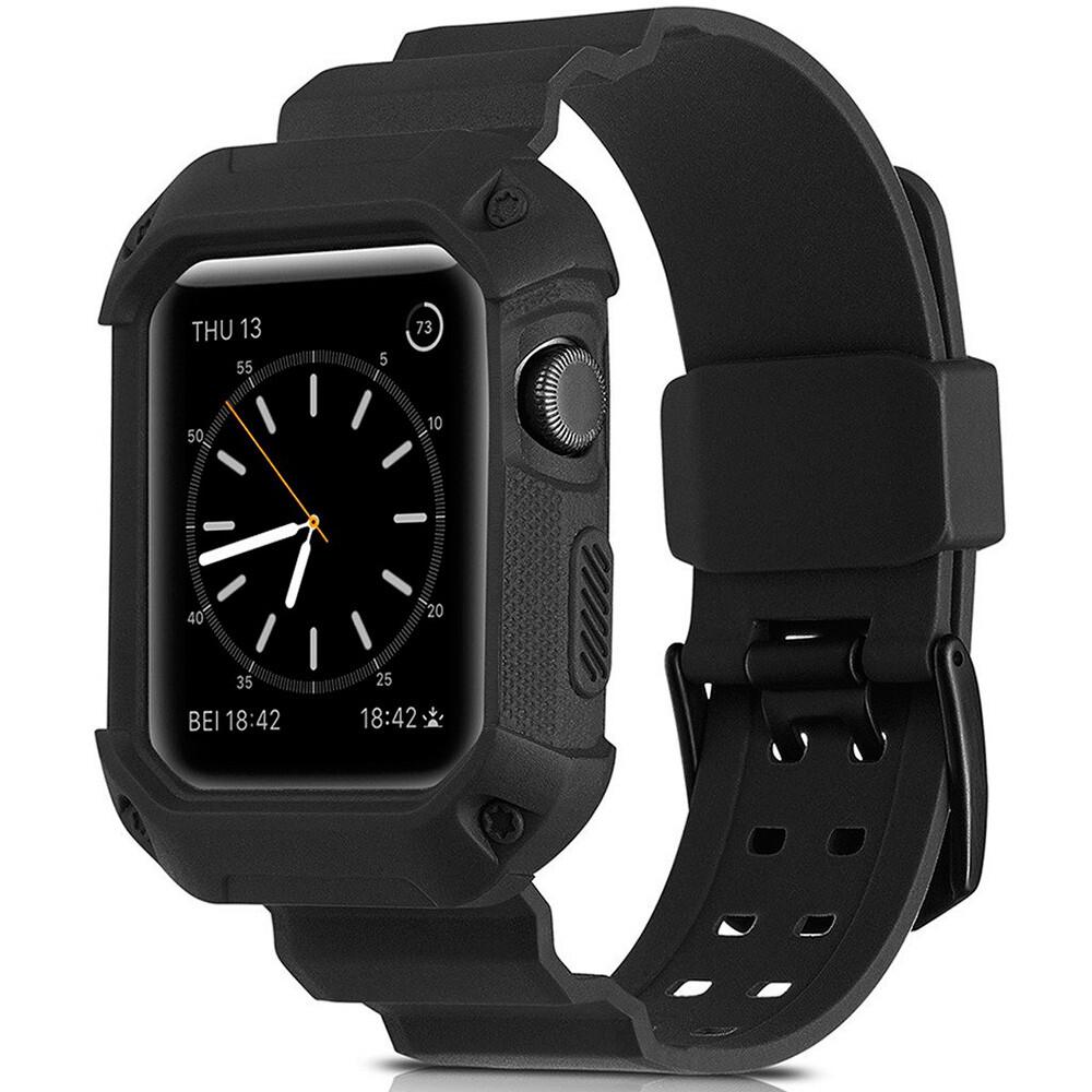 Ремешок-чехол Supcase OEM Black для Apple Watch Series 1/2/3/3 42mm