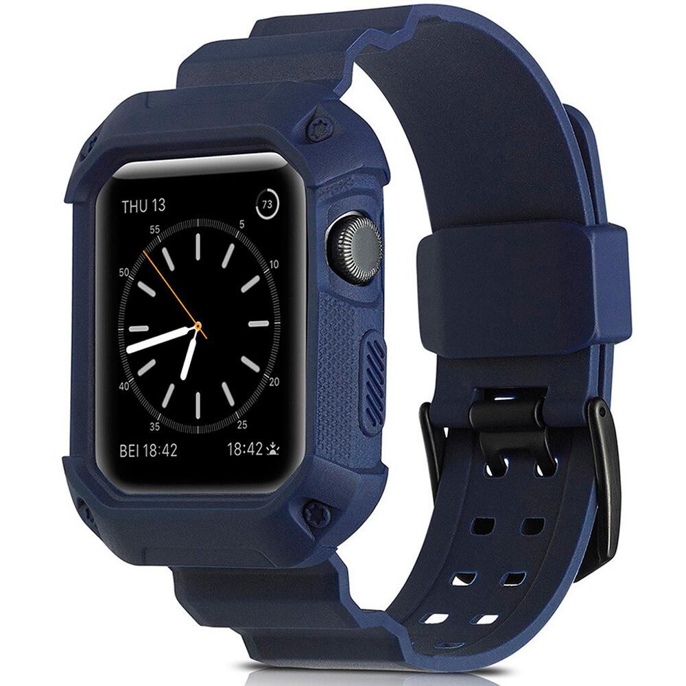 Ремешок-чехол Supcase OEM Blue для Apple Watch Series 1/2/3/3 42mm