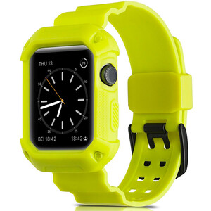 Купить Ремешок-чехол Supcase OEM Yellow для Apple Watch Series 1/2/3/3 42mm