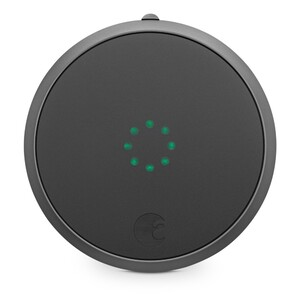 Купить Умный замок August Smart Lock 2nd Gen Dark Gray (HJP72)