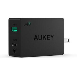 Купить Быстрое зарядное устройство Aukey PA-Y2 Black Quick Charge 3.0 (US)