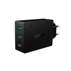 Купить Быстрое зарядное устройство Aukey PA-Y4 Black Quick Charge 3.0
