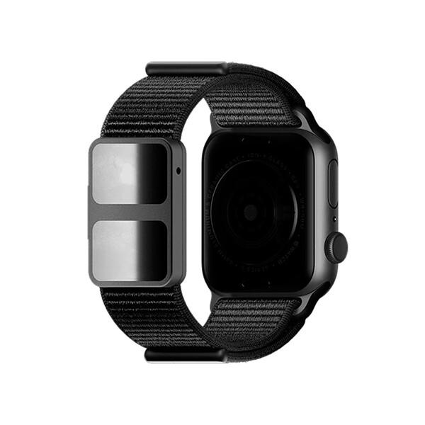 Ремешок AURA Strap Black для Apple Watch 38mm | 40mm SE | 6 | 5 | 4 | 3 | 2 | 1