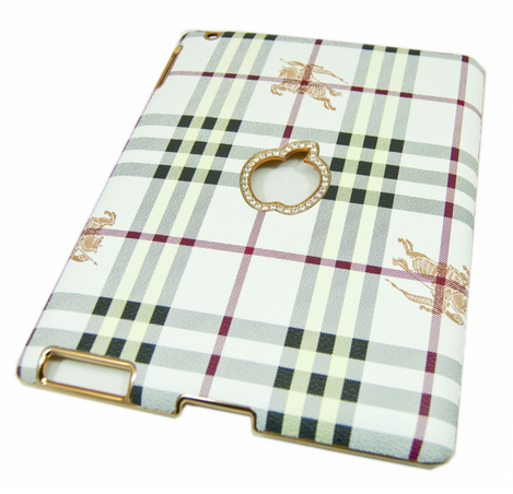 Kingpad Burberry white для iPad 2