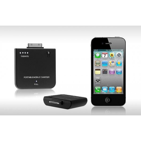 Зарядное устройство Ecell 1000MAH для iPhone 4/4S