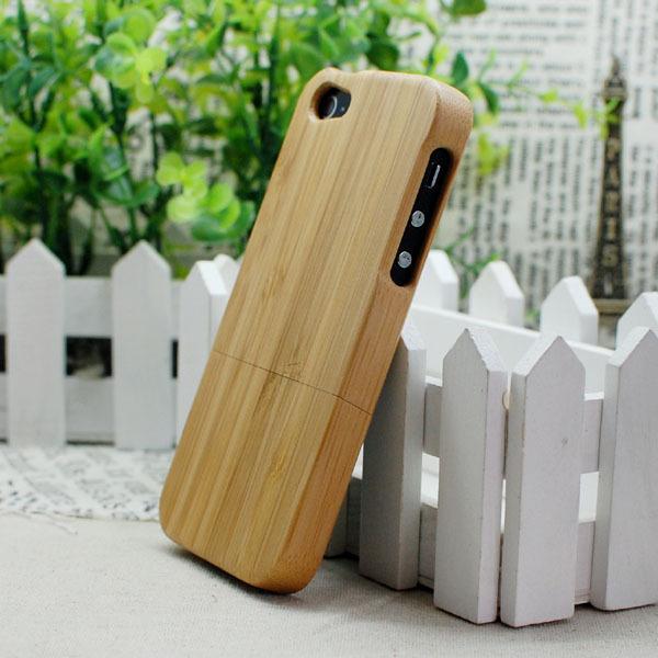 Бамбуковый чехол Natural Bamboo для iPhone 5/5S/SE