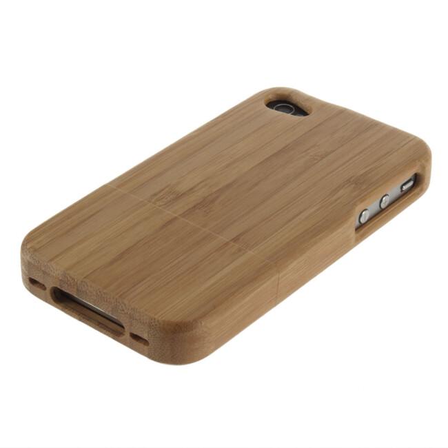 Бамбуковый чехол для iPhone 4/4S